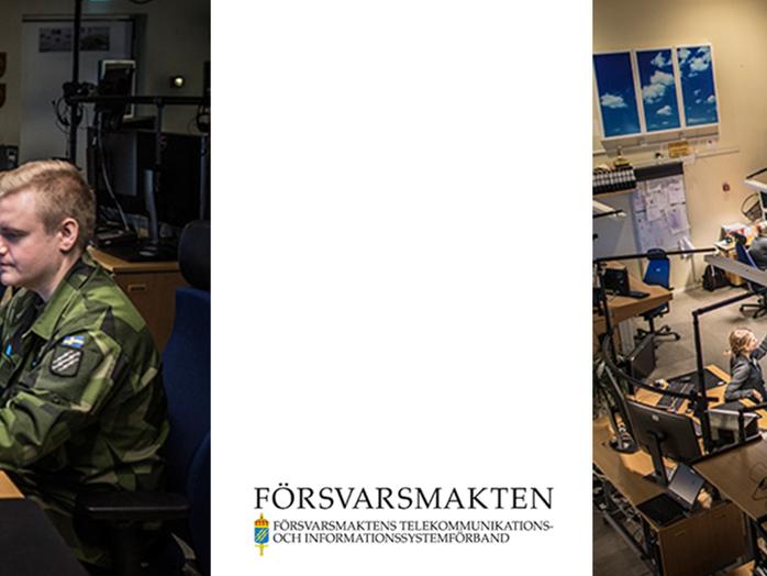 Försvara Sverige bakom skärmen - Webinar med Försvarsmakten