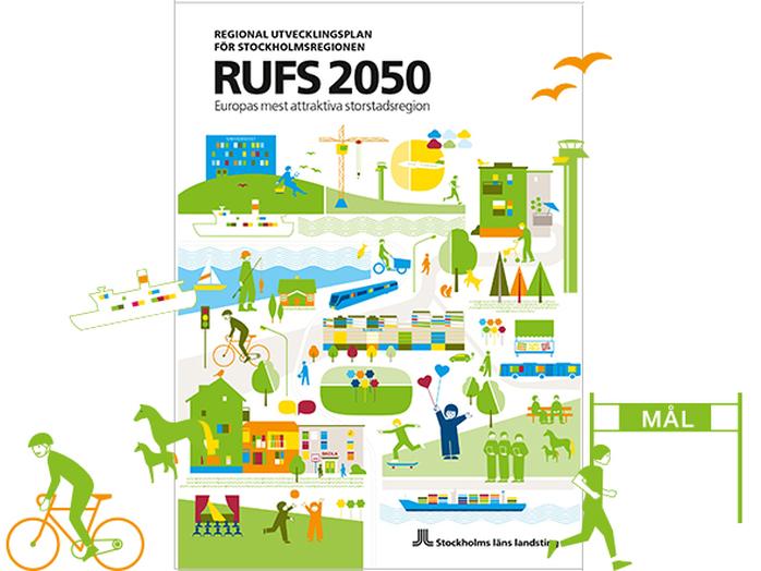 En introduktion till RUFS 2050, Stockholmsregionens utvecklingsplan