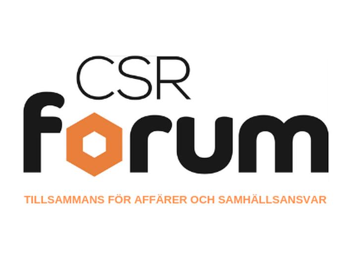 CSR Forum: Tillsammans för affärer och samhällsansvar