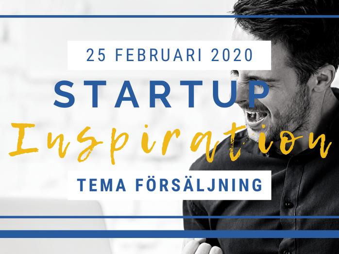 StartUp Inspiration med tema försäljning