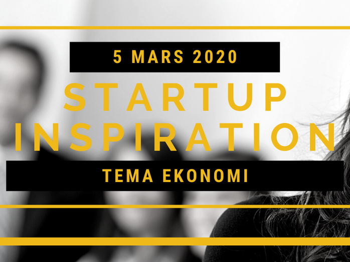 StartUp Inspiration Tema Ekonomi